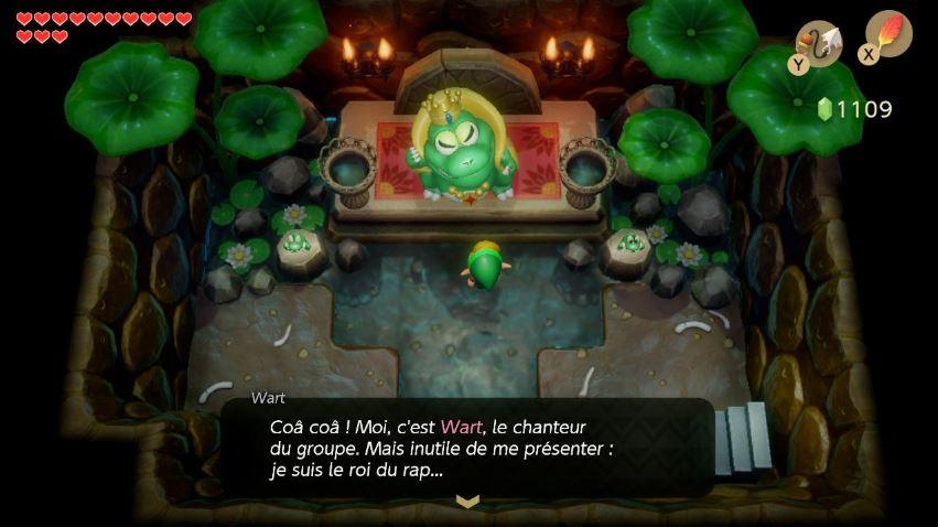 Link's Awakening Grenouilles