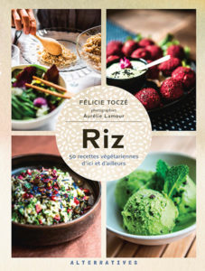 Riz de Félicie Toczé aux éditions Alternatives : couverture