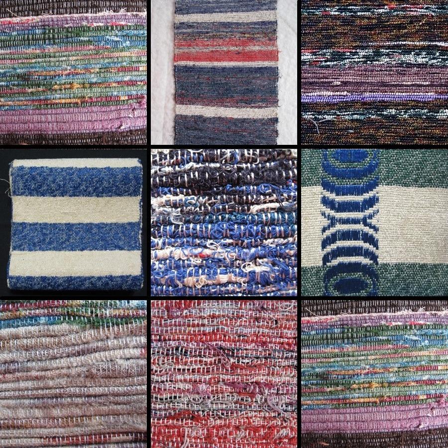 Exemples de tissage Sakiori ©Kyotokimono