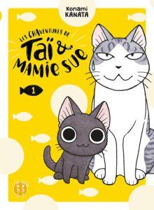 Couverture du tome 1 de Les chaventures de Taï et Mamie Sue