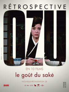 Affiche Le goût du saké de OZU