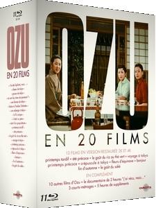 Coffret BR Ozu en 20 films