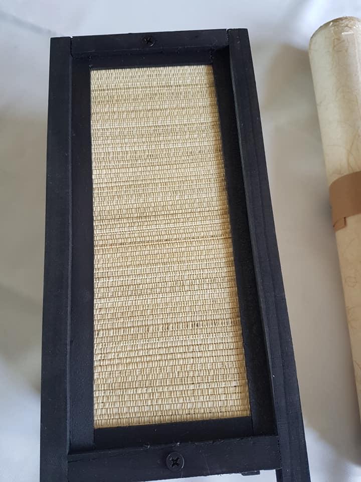 DIY lampe à pied japonaise en papier washi 2