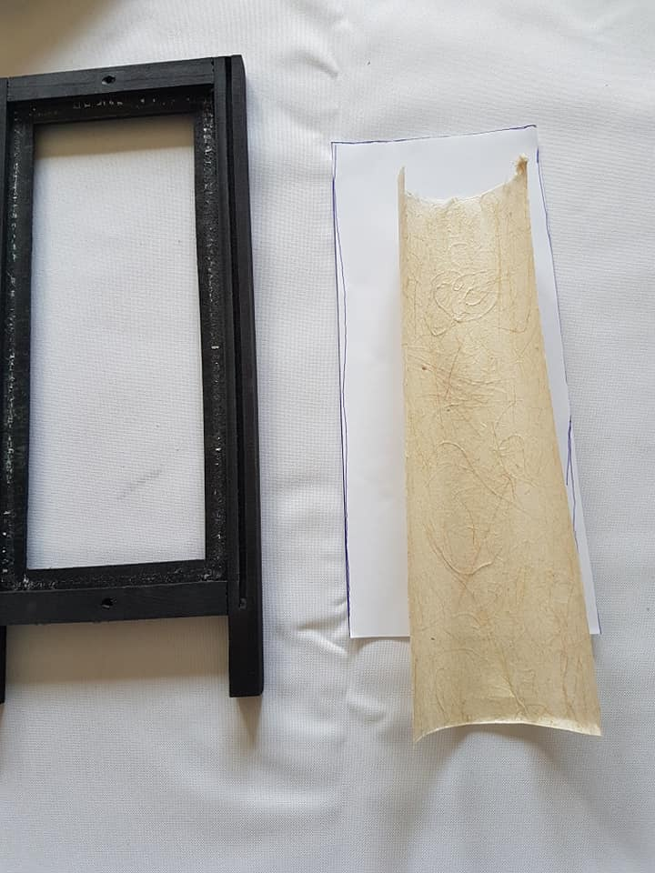 DIY lampe à pied japonaise en papier washi 4
