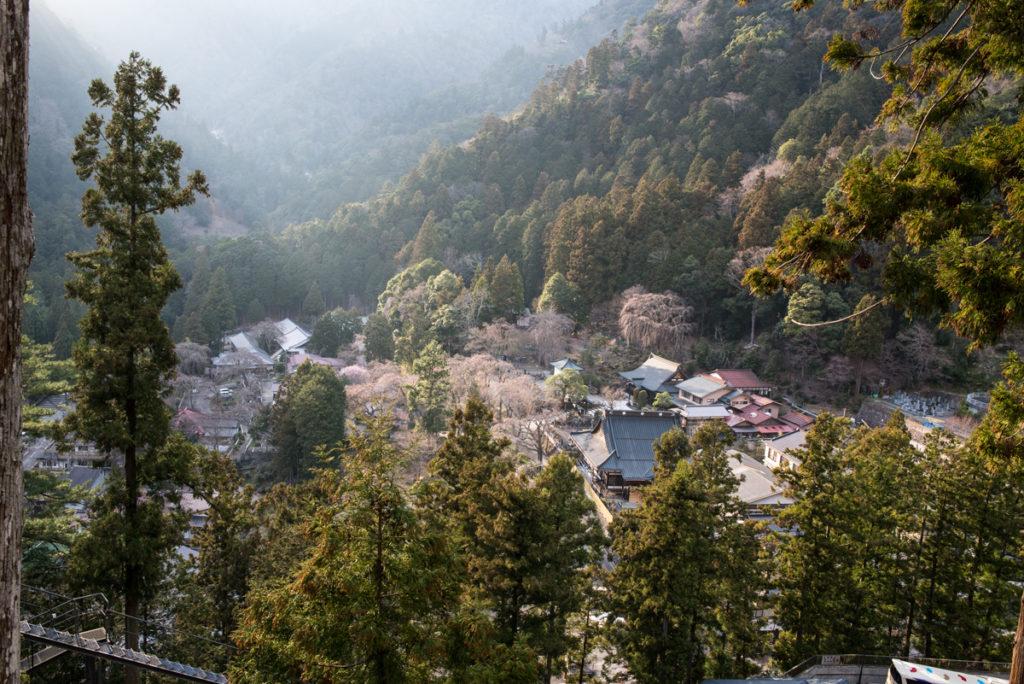La vue depuis le Kuonji. Crédits photo : Pascal Voglimacci ©journaldujapon.com – Tous droits réservés.