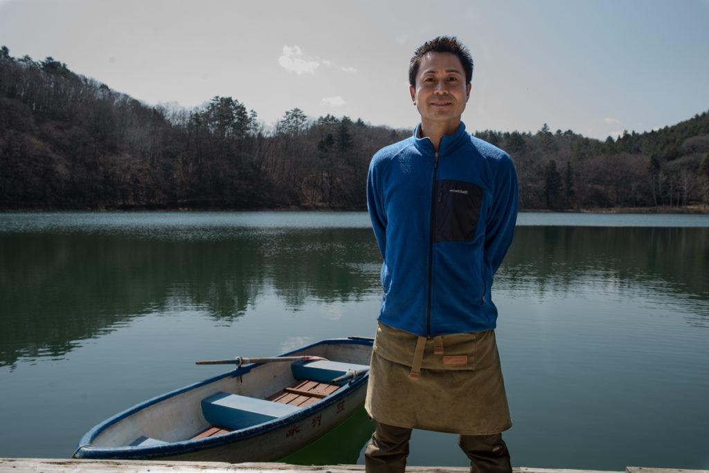 Le patron du camping, comme dans la série. Crédits photo : Pascal Voglimacci ©journaldujapon.com – Tous droits réservés.