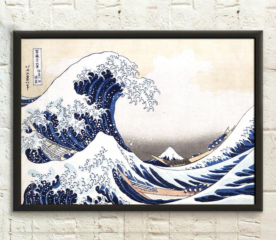 La Grande de Kanagawa de Katsushika Hokusai