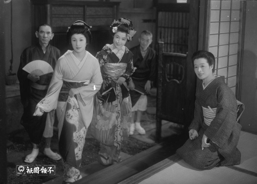 Les musiciens de Gion de Mizoguchi