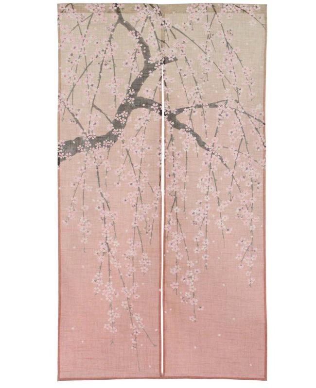 Noren Fleurs de Cerisier