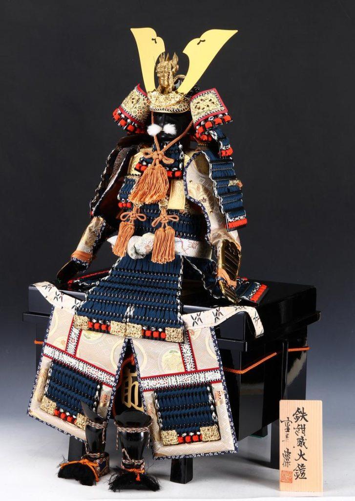 Poupée Armure Samouraï - Vue oblique