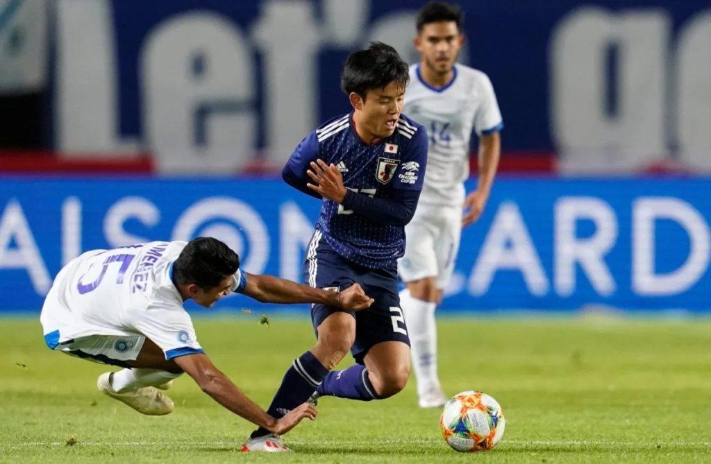 Takefusa Kubo en Equipe Nationale