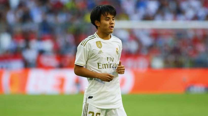 Takefusa Kubo au Real Madrid