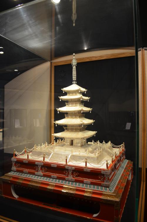 Réalisée en perles, cette pièce du musée est une des plus appréciée. Crédits : yyz2ngo