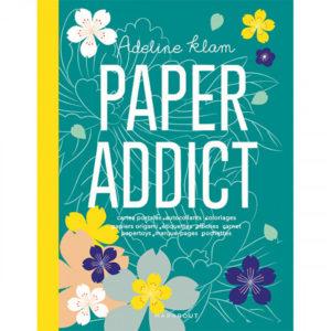 Paper Addict d'Adeline Klam, éditions Marabout : Couverture