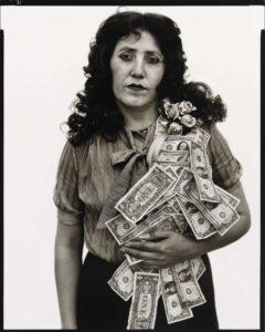 Petra Alvarado, ouvrière en usine à El Paso (Texas) le jour de son anniversaire (22/04/1982)
