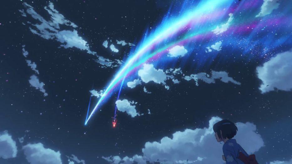 Le ciel dans Your name, élément important chez Shinkai. ©Eurozoom