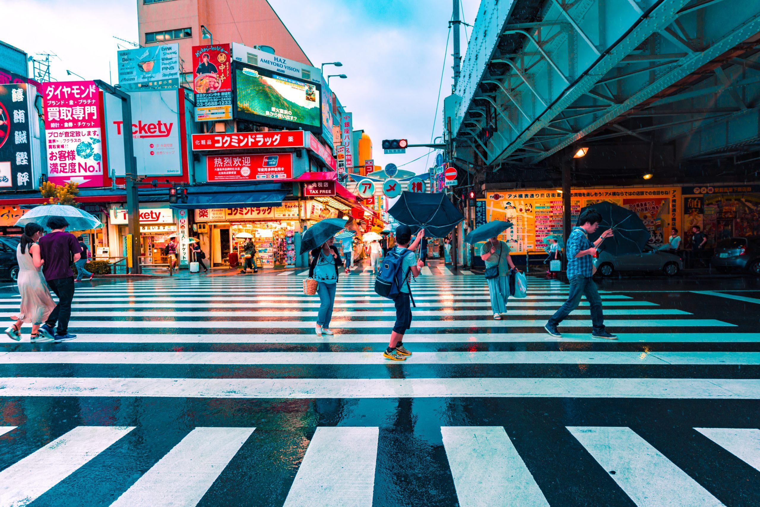 Vent violent à Tokyo // Photo Jezael Melgoza - Unsplash