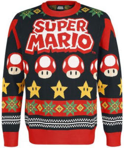 Pull de Noël Super Mario