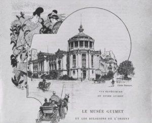 Affiche Le musée Guimet et les religions de l'orient