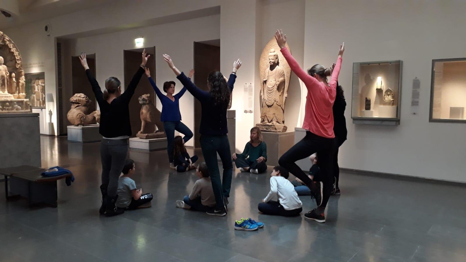Atelier en famille : des arts au yoga