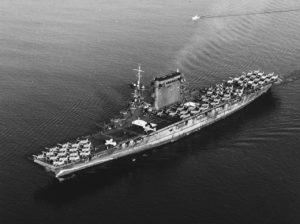 Le Lexington le 14 octobre 1941