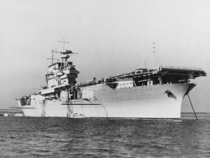 Le Yorktown en 1937