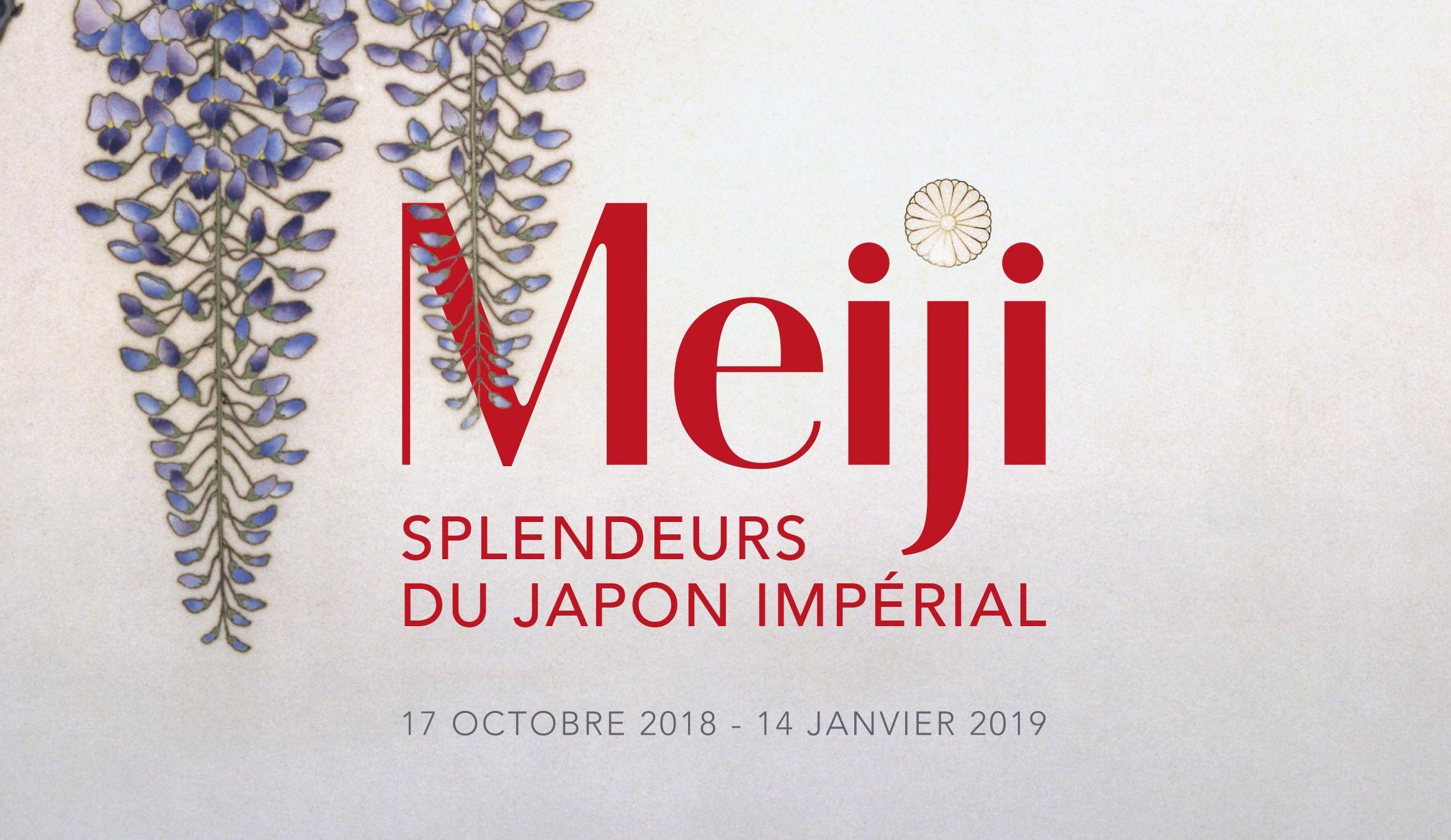 """Exposition """"Meiji, Splendeurs du Japon impérial (1868-1912)"""""""