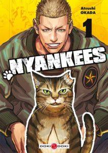 Couverture du tome 1 de Nyankees chez Doki-Doki