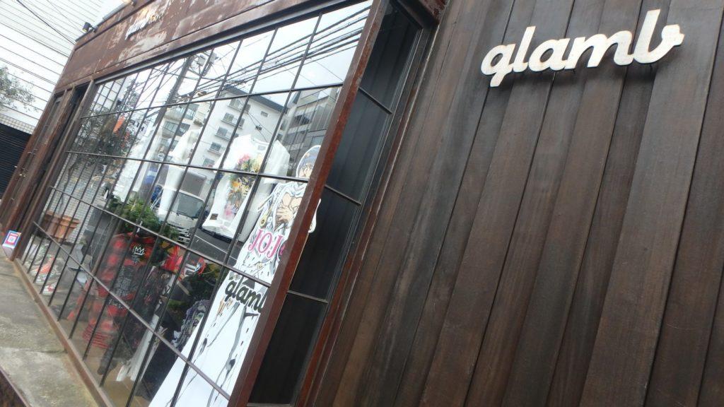 Boutique de vêtements Glamb de Tokyo qui, depuis quelques années, fait un partenariat avec JoJo's Bizarre Adventure (c) Sébastien Kimbergt 2018