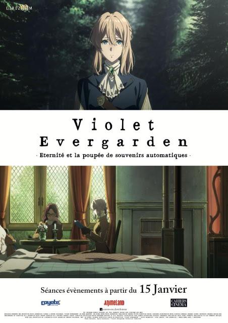 Violet Evergarden, affiche, film