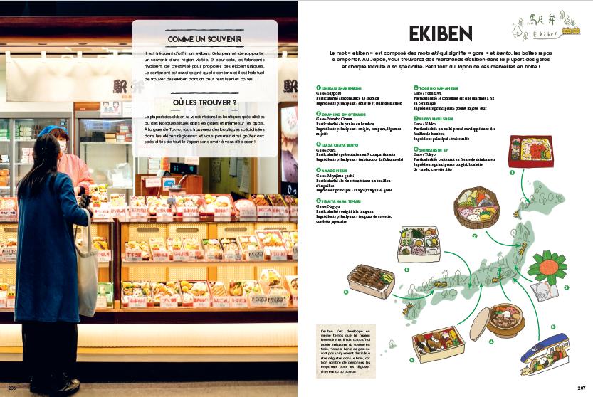 Japon gourmand page intérieure Ekiben
