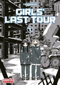 Couverture du tome 1 de Girl's Last Tour chez Omaké Books