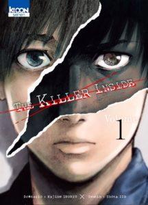 Couverture du tome 1 de The Killer Inside chez Ki-oon