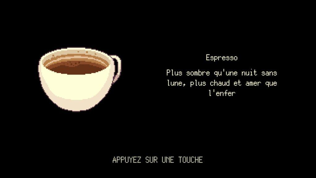 Le café, la boisson favorite de Freya
