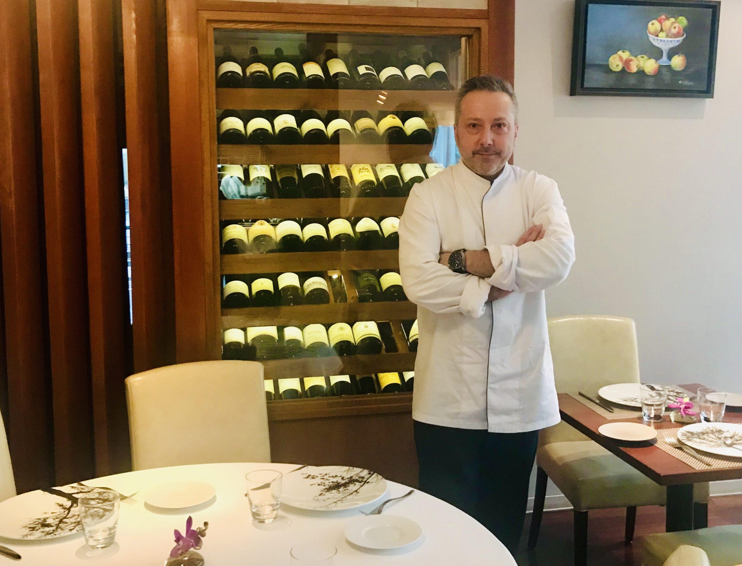Chef Olivier Oddos restaurant Tokyo