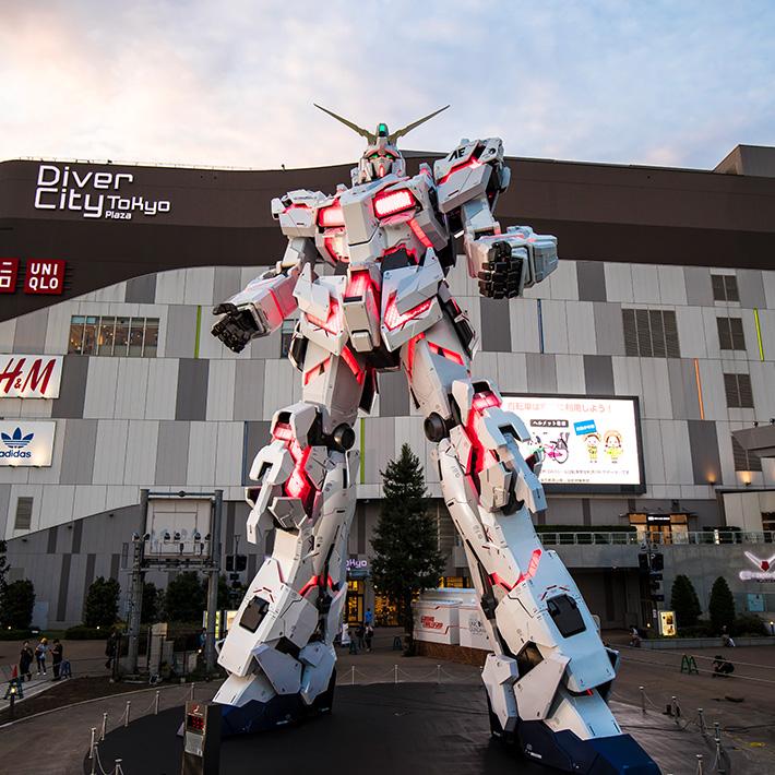 RX-0 Unicorn à Odaiba