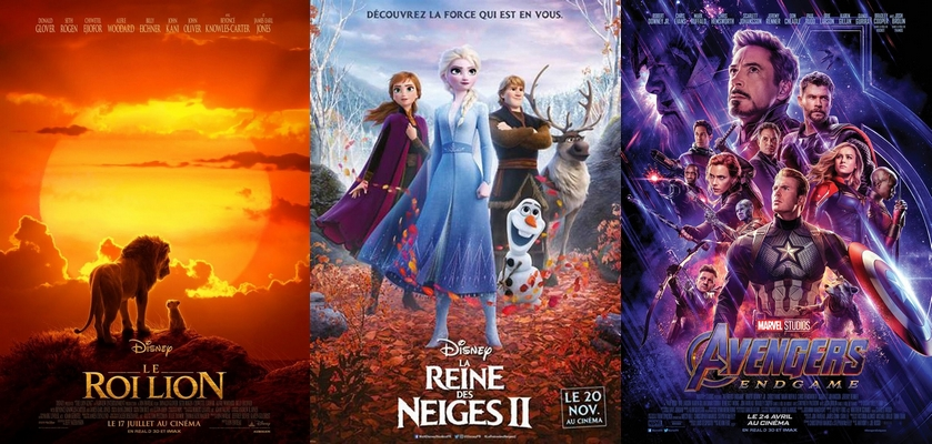Top 3 France Box office