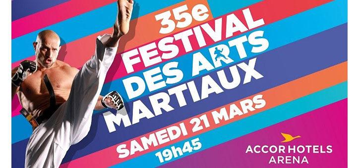 Une du 35e festival d'arts martiaux