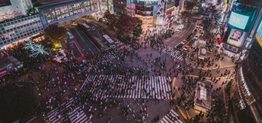 Une Afflux touristique Japon