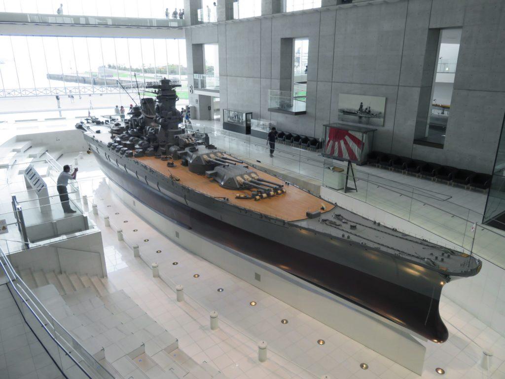 Les maquettes du musée maritime à Kure sont reproduites au détail prés. Crédits : Wikipédia by @Aw1805