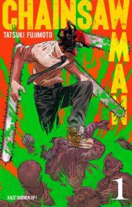 Couverture de Chainsaw Man chez Kazé manga