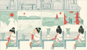 Groudoudou et Ptititie découvrent... le Japon d'Anne-Sophie Coppin et Claire Shorrock