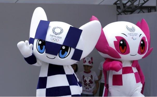 Mascotte J.O 2020 Tokyo