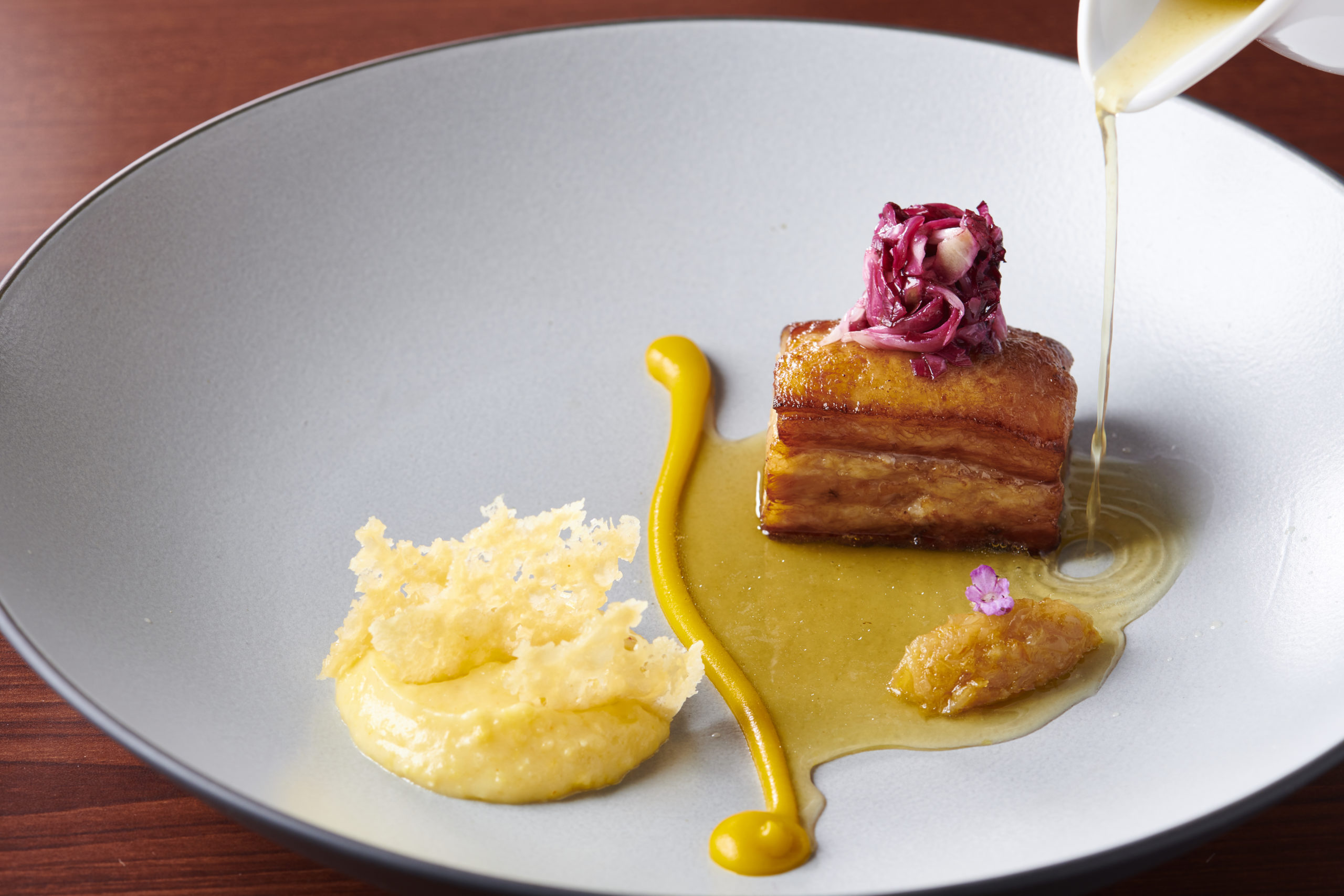 Plat restaurant Chez Olivier Tokyo