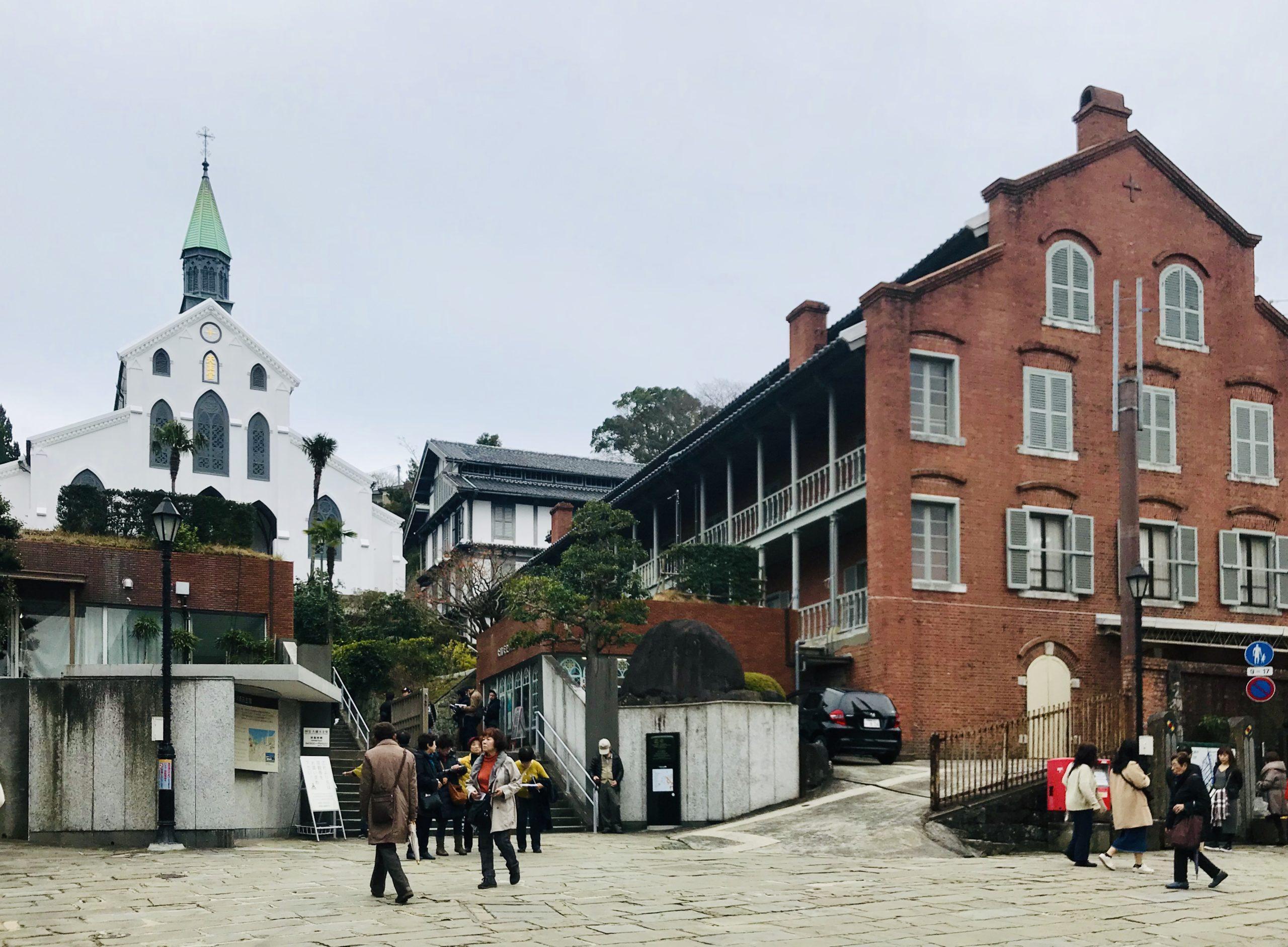 église de Nagasaki classée au patrimoine mondial de l'UNESCO