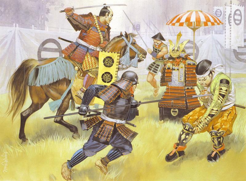 La bataille de Okehazama par Angus McBride