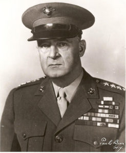 Le major-général Alexander A. Vandegrift