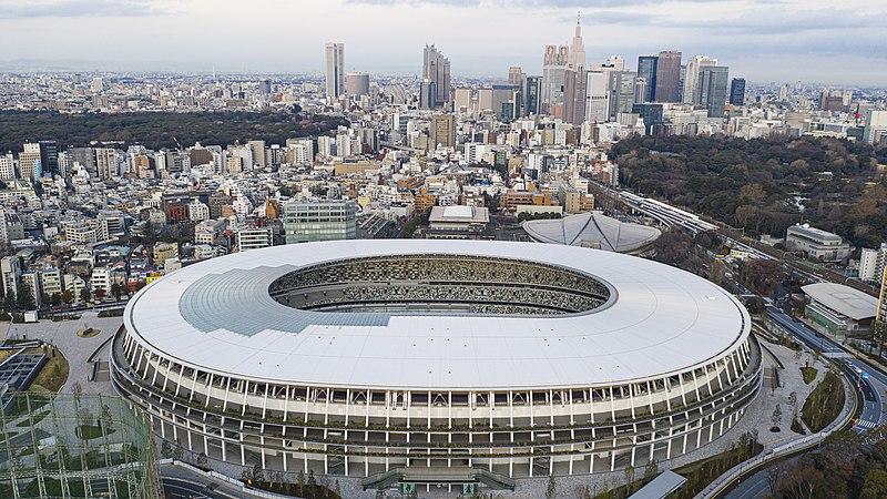 New national stadium à Tokyo