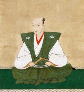 Portrait de Nobunaga Oda réalisé par Kanō Sōshū