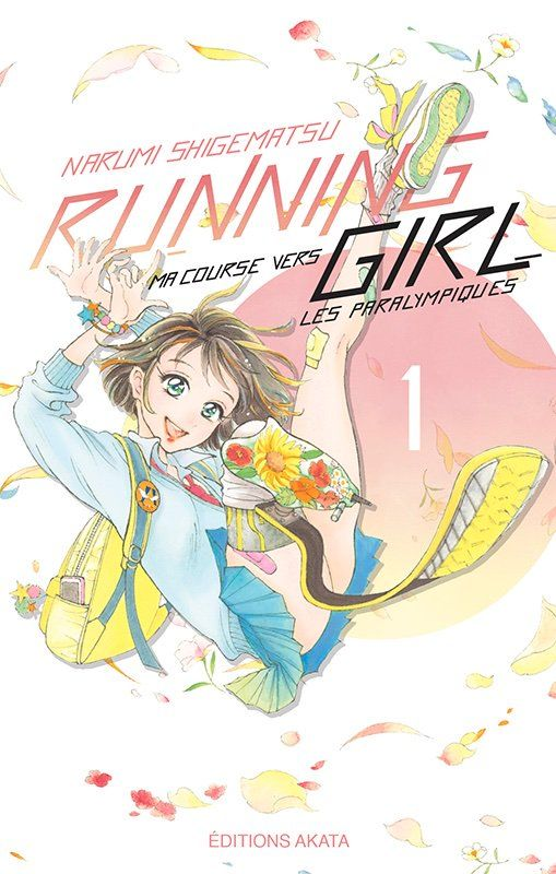 Couverture du tome 1 de Running Girl chez Akata